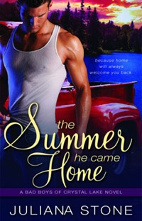 The Summer He Came Home in the Barker Triplets Trilogy by Juliana Stone