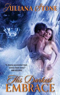 The Darkest Embrace (Jaguar Warriors) by Julia Stone