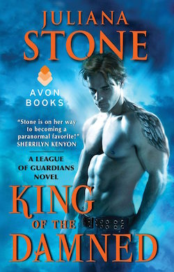King of the Damned (League of Guardians) by Juliana Stone
