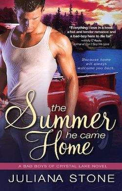 The Summer He came Home (Bad Boys of Crystal Lake) by Juliana Stone